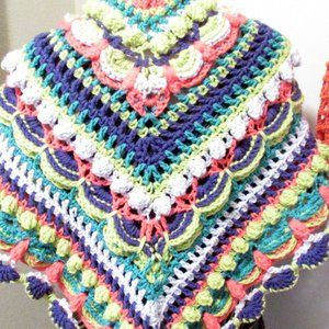 NEW Neon Colors Festival Spring Shawl Wrap